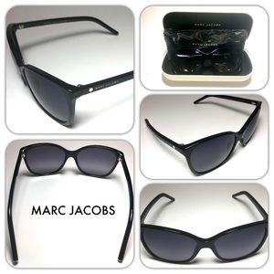 MARC JACOBS NEW Cat Eye Black Women's Sunglasses